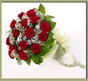 Bouquet Rose Rosse Bacio