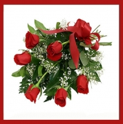 Bouquet Rose Rosse Romeo